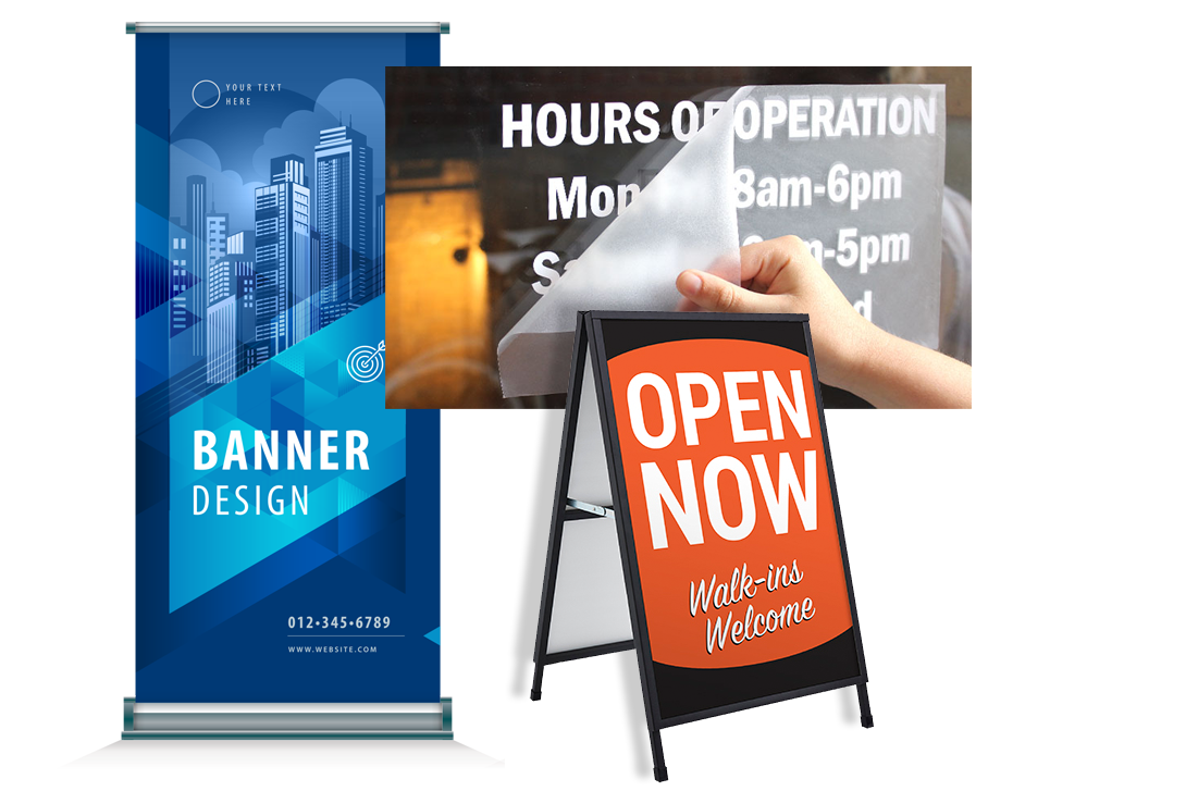 banners & signs marketing signs and banners gnomon copy printer upper valley nh vt lebanon hanover